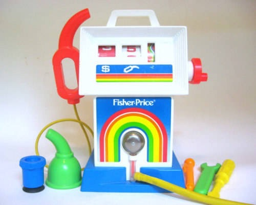 Fisher-Price  Gas Station